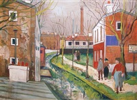 banlieue by maurice utrillo