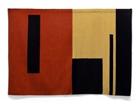 a-z cover series 2 (rust and gold geometric) by andrea zittel