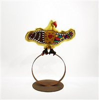 bird on ring (richard) by niki de saint phalle