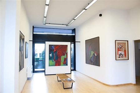 the language of absolute (installation view, galleria open art 03) by luigi parzini