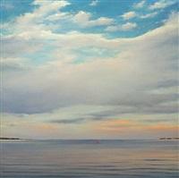 flanders bay, evening #2 by adam straus