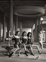 le jugement des parques / the judgement of the fates by bettina rheims