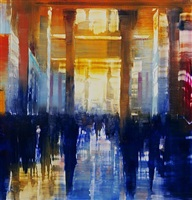 columns of light (sold) by david allen dunlop