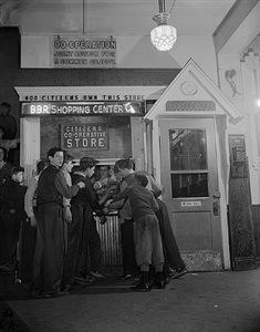 citizens co-operative store owned by 400 citizens of boys brotherhood republic, 1942 by brian ulrich
