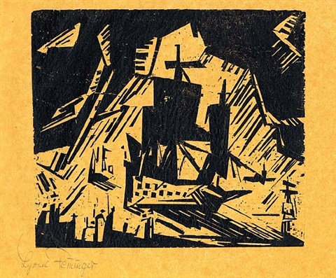 the departure by lyonel feininger