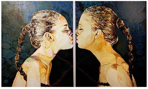 lippen scheiteln dunkelheit by cornelia schleime