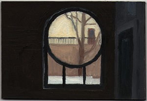 courtyard window by eleanor ray