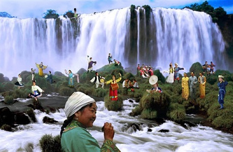 nationality pictorial series – minority scenery by ye funa