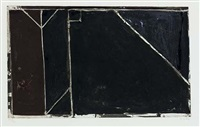 folsom street variations i (black) by richard diebenkorn