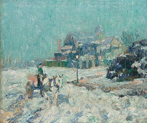 inwood, upper washington heights by ernest lawson