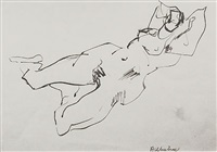 reclining nude ii by anthony whishaw