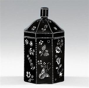 jar with lid by dagobert peche