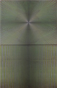 from the series 'interferences' (green) by eugenia gortchakova