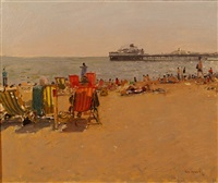 beach chairs by ken howard