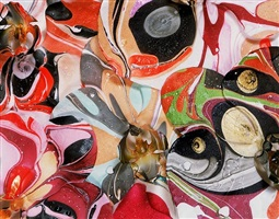 marbled phalaenopsis orgy #1 by christopher beane