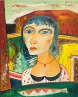 louise blackie by john bellany