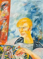david bowie by john bellany