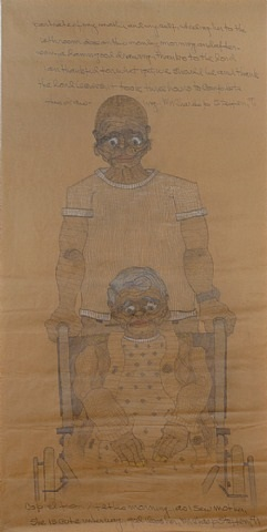 portrait of my mother and myself by charles steffen