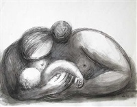 mother and child by baltasar lobo