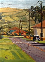 kekaha, near the school, kauai by roxann poppe leibenhaut