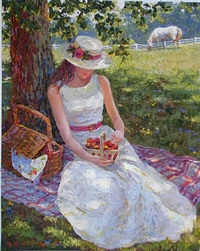 ranch picnic by h. gordon wang