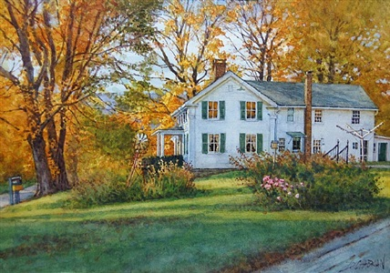 newton's farmhouse (sold) by deborah l. chabrian