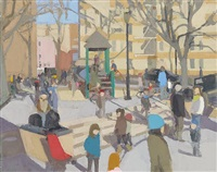 winter playground by john dubrow