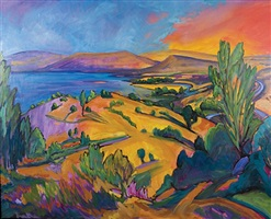 sea of galilee ii    by jeffrey hessing