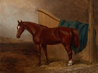 portrait of a horse by h. moore