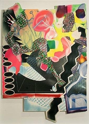 michael kohlhaas panel # 1 by frank stella