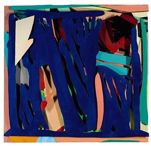 blue by tom wesselmann