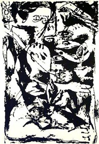 untitled (based on the painting cr340) by jackson pollock