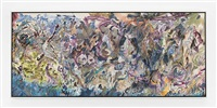 barreling (012b-7) by larry poons