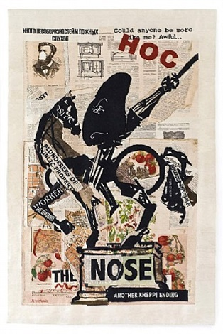 nose (with strawberries) by william kentridge