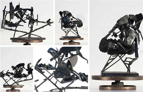 sculpture for return (commendatore naso) by william kentridge