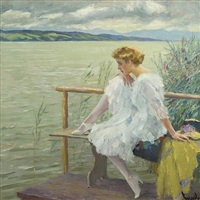 by the water's edge by edward cucuel
