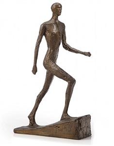 man running ii by elisabeth frink