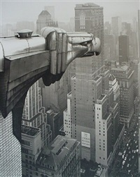from the chrysler building, new york by george tice