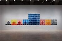 installation view by jennifer bartlett