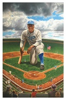 landmark- jackie robinson by david levenson