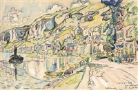 petit andely by paul signac
