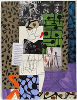 untitled by bruce mclean