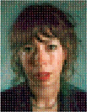 cecily by chuck close