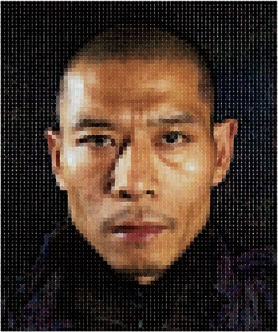 zhang i by chuck close