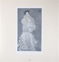 <u>portrait of hermine moritz gallia</u> from das werk by gustav klimt