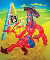 california artist by peter saul