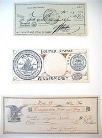 untitled (paper money) by saul steinberg