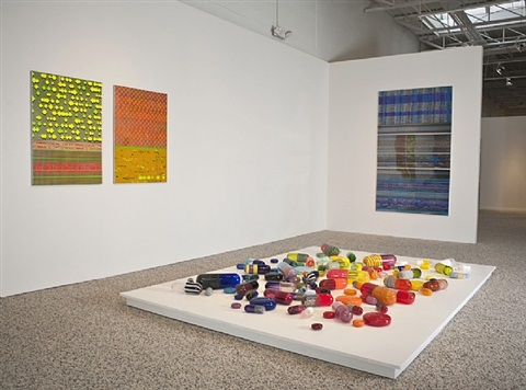 <i>artificial paradise</i>, installation view by beverly fishman