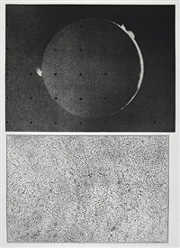 jupiter moon - constellation by vija celmins