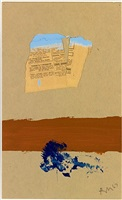 the brown stripe by robert motherwell